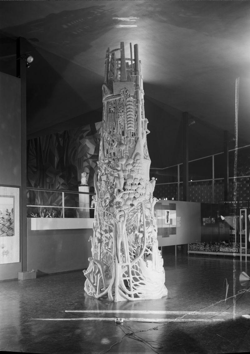 Exposição Universal de Bruxelas, 1958. Pavilhão de Portugal