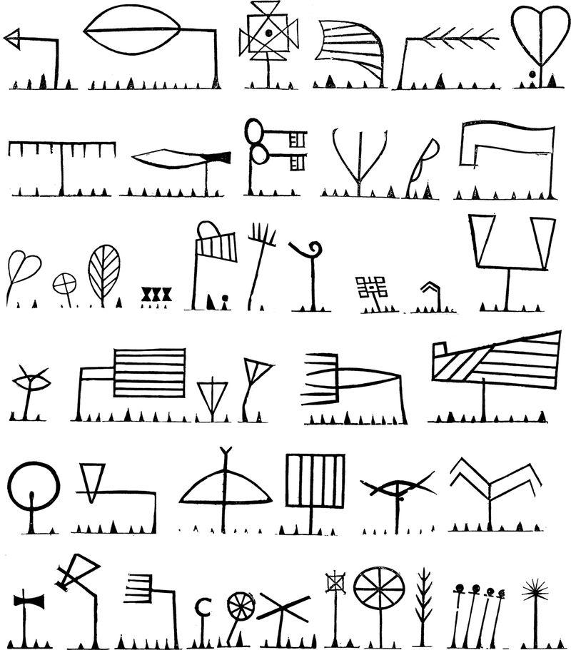 Symbols-set