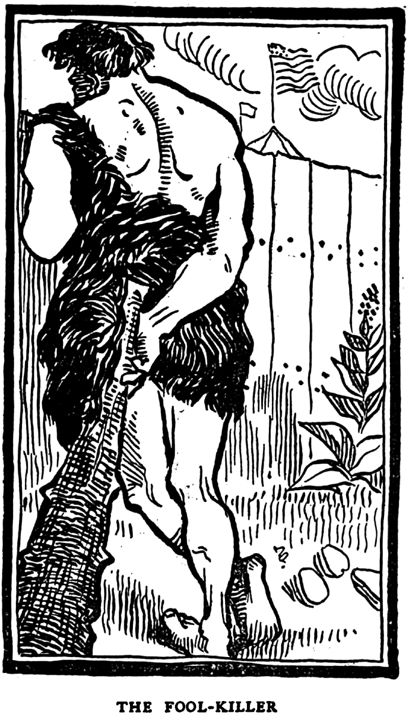 From Fables in Slang by George Ade and illustrated by Clyde J. Newman, 1899.  dfd