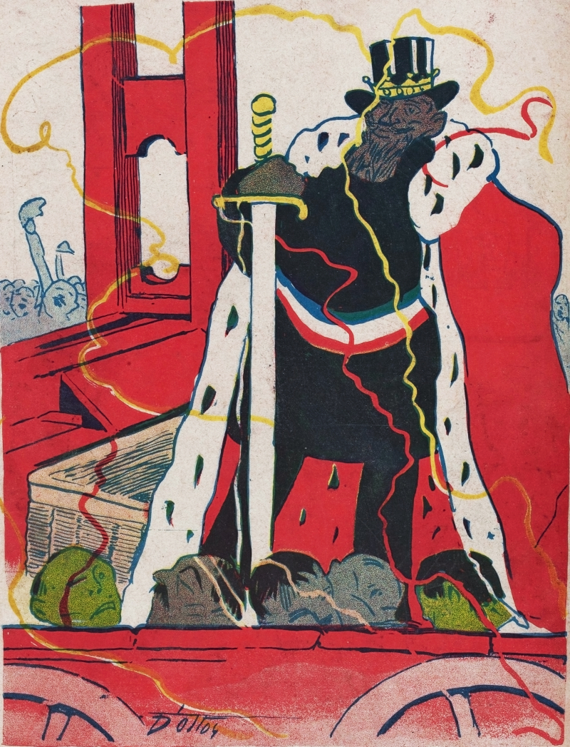 From L'Assiette au Beurre  1909.  412-017